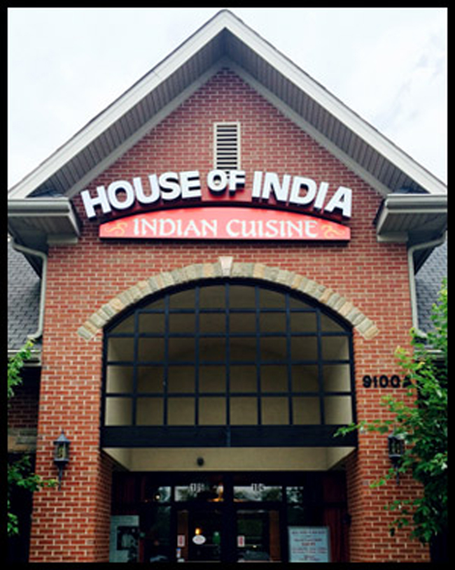 House of India - fine Indian Cuisine in Franklin, Nashville, Brentwood Tennessee