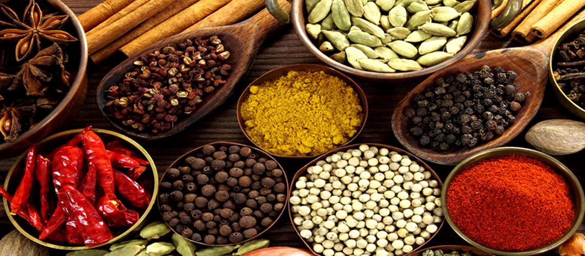 Blend of selected Indian Spices